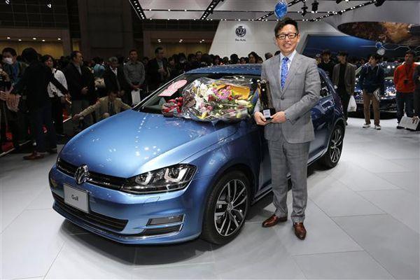 Volkswagen Golf รถนำเข้ารุ่นแรกที่คว้ารางวัลรถยอดเยี่ยมแห่งปีของญี่ปุ่น