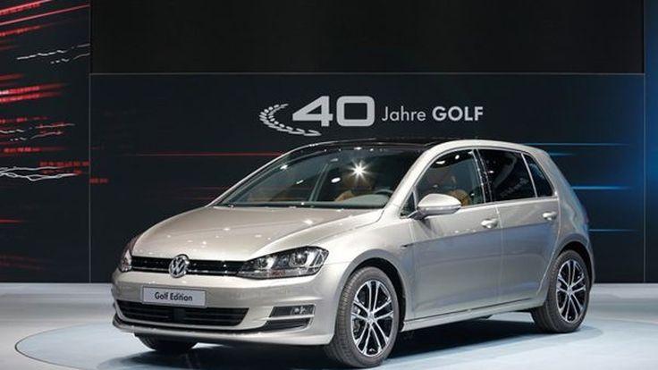 Volkswagen Golf Edition ฉลองครบรอบ 4 ทศวรรษรถคอมแพกต์ยอดนิยม