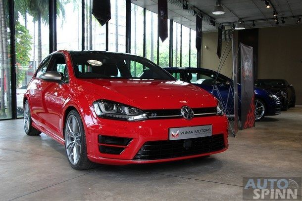 Volkswagen Golf R Mark 7 คันแรกในไทย มาแล้ว โดย Yuma Motors เคาะราคา 4ล้าน กลาง