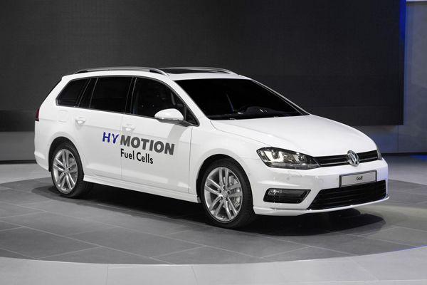 [LA Auto Show] Volkswagen Golf SportWagen HyMotion รถไฮโดรเจนแนวทดลอง
