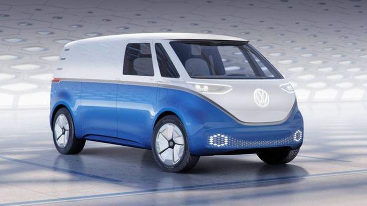 I.D. Buzz Cargo รถตู้ต้นแบบพลังไฟฟ้าจาก Volkswagen  Concept พร้อมวิ่งได้ไกลถึง 550Km