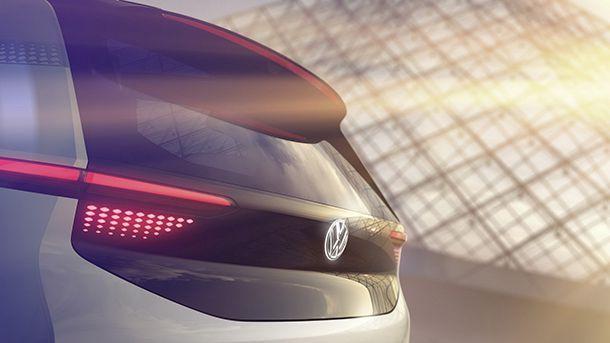 Volkswagen แย้มทีเซอร์รถพลังไฟฟ้าต้นแบบโมเดลใหม่
