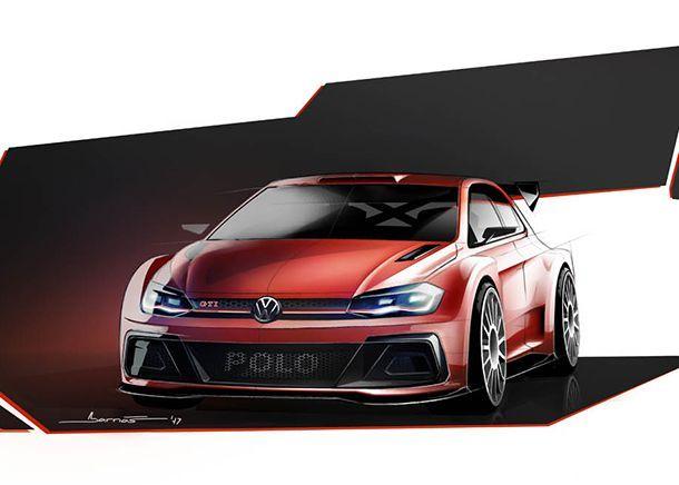 Volkswagen หวนคืนสนามแข่งแรลลี่ด้วย Polo GTI R5