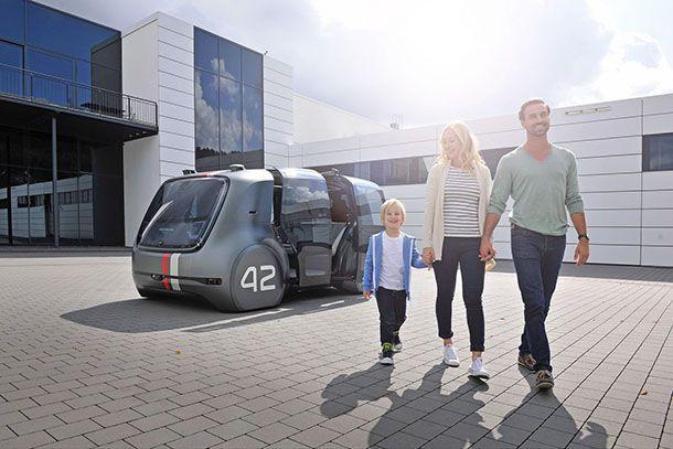 Volkswagen ชี้รถขับขี่อัตโนมัติแบบร่วมโดยสารจะเกิดขึ้นในอีก 4 ปี
