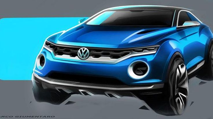 Volkswagen T-ROC ต้นแบบเอสยูวีขนาดเล็กแห่งอนาคต