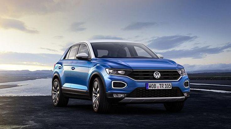 Volkswagen เผยโฉม T-Roc รถครอสโอเวอร์ขนาดเล็กเน้นความบึกบึน