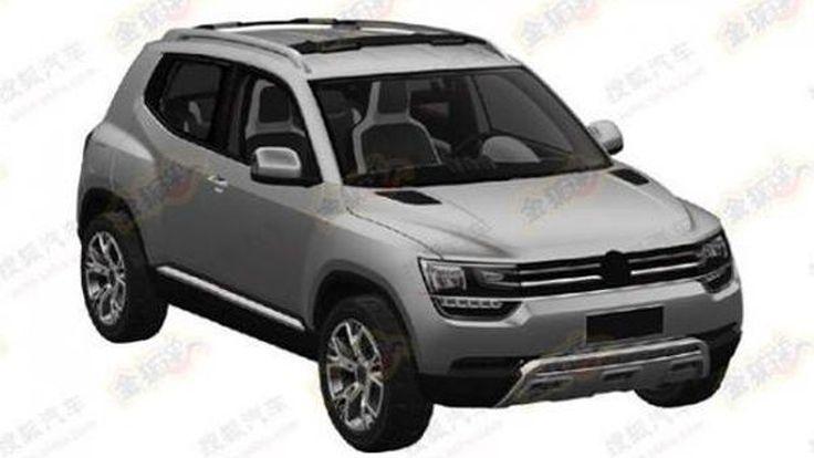 หลุด Volkswagen Taigun ครอสโอเวอร์รุ่นเล็กโฉมโปรดักชั่น ผ่านภาพสิทธิบัตร