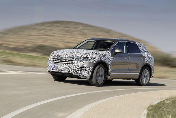 Volkswagen ปล่อยภาพทีเซอร์ชุดใหญ่ Touareg รุ่นใหม่ เตรียมขายกลางปี