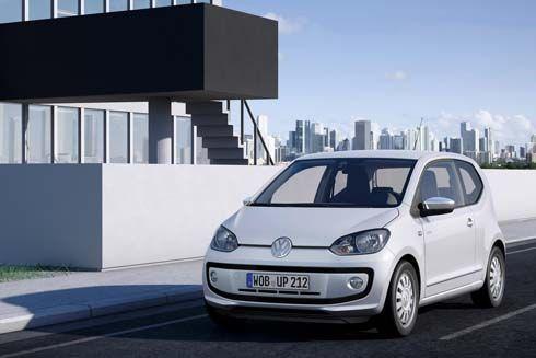 Volkswagen Up! รุ่น production ซิตี้คาร์เครื่องยนต์ 1 ลิตร เผยโฉมก่อนไปแฟรงค์เฟิร์ต