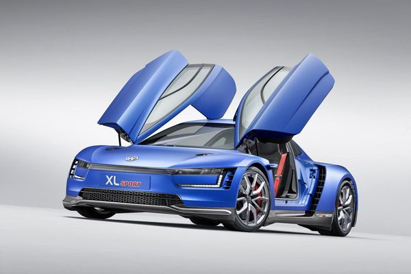 PARIS 2014: Volkswagen XL Sport สุดยอดรถ 2 สูบที่แรงที่สุดในโลก