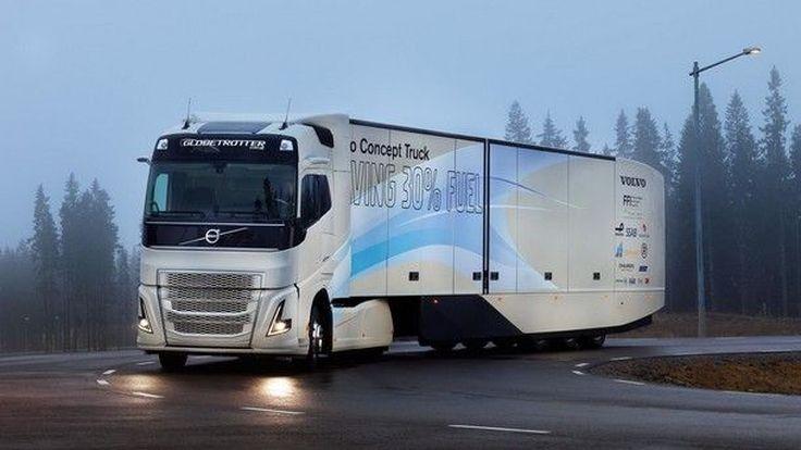 Volvo Truck Concept กับรถบรรทุกยุคใหม่ที่มาขุมพลังไฮบริดที่สะอาดมากยิ่งขึ้น