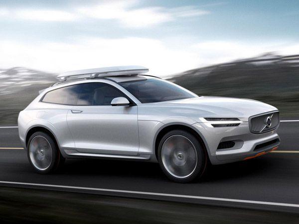 """มาแล้ว รถต้นแบบ Volvo Concept XC Coupe ว่าที่ """"XC90"""""""