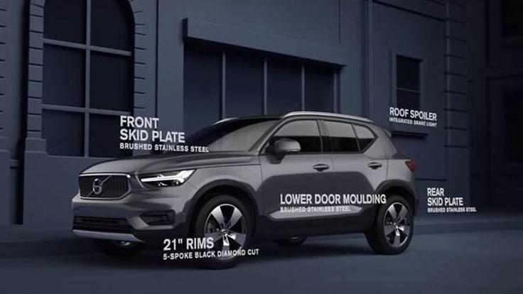 Volvo นำเสนอชุดแต่งภายนอกเสริมหล่อ XC40