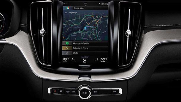 Volvo จับมือ Google ใช้แพลทฟอร์มแอนดรอยด์ในรถยนต์
