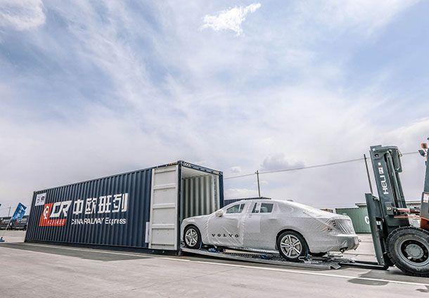 เปิดมิติใหม่ Volvo ผลิต S90 ในจีน ส่งออกสู่ยุโรปทางรถไฟ