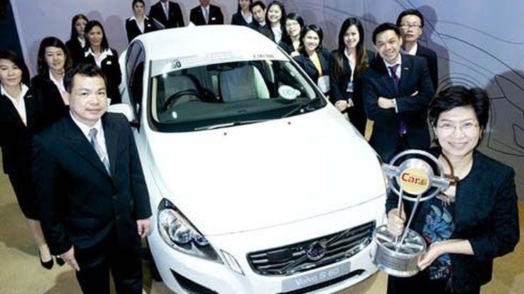 Volvo S60 DRIVe รถยนต์ซีดานหรูสไตล์สปอร์ตรับรางวัล Car of the Year 2012