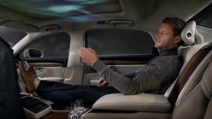 สบายระดับเฟิร์สคลาส! Volvo เปิดตัว S90 Ambience Concept