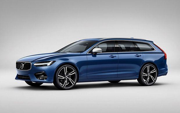 Volvo เสริมความสะดุดตา S90 และ V90 ด้วย R-Design