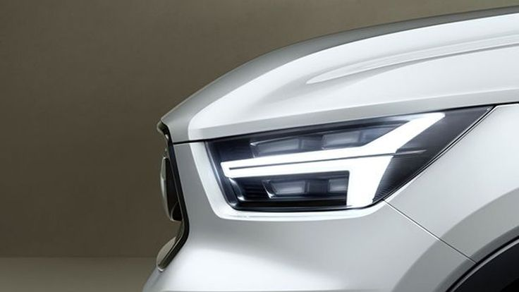 """Volvo เปิดเผยภาพทีเซอร์รถต้นแบบรุ่นใหม่ที่อาจเป็น """"V40"""""""