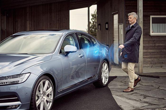 """วอลโว่วางแผนทำตลาดรถยนต์ """"ที่ไม่ต้องใช้กุญแจ"""" ปีหน้า"""
