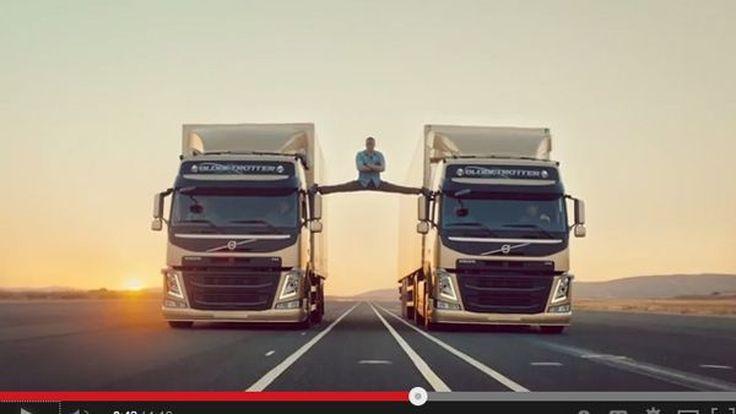 อึ้ง! Jean-Claude Van Damme โชว์ฉีกขา 180 องศาในโฆษณารถทรัค Volvo