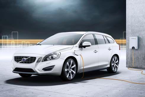 Volvo V60 Plug-In Hybrid ไฮบริดดีเซล-ไฟฟ้า รออวดโฉมล่าสุด ก่อนเริ่มจำหน่ายปี 2012