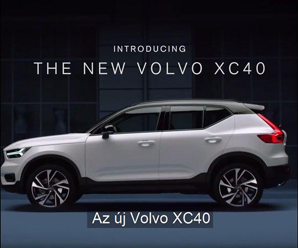 หลุดชัดเต็มตา Volvo XC40 ก่อนเปิดตัวสัปดาห์หน้า
