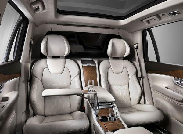 Volvo XC90 Excellence ยกระดับความหรูหราและสะดวกสบาย