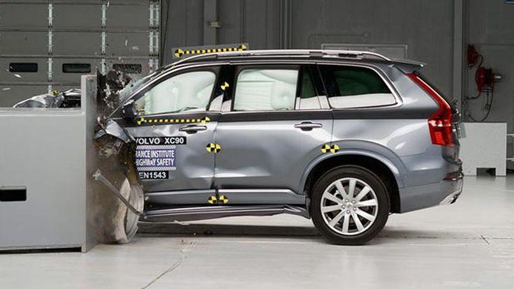 ตามคาด! วอลโว่ เอ็กซ์ซี90 ทำคะแนนความปลอดภัยดีเยี่ยม