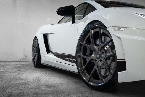 Vorsteiner แนะนำชุดล้ออัลลอย Lamborghini Gallardo เลือกสีได้ตามใจ