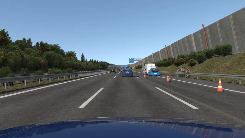 ครั้งแรกที่ใช้ระบบ VR ช่วยพัฒนาระบบขับขี่ไร้คนขับก่อนลงถนนจริง
