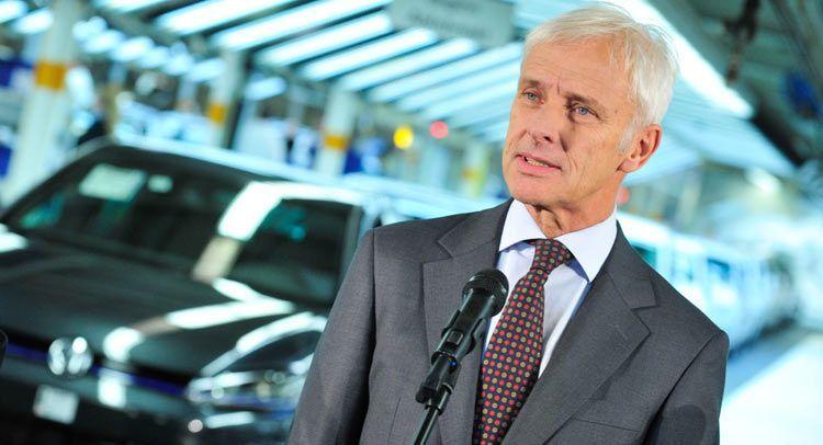 ซีอีโอโฟล์คสวาเกนประกาศแผน 5 ขั้นสู่การเป็นผู้นำยานยนต์โลก