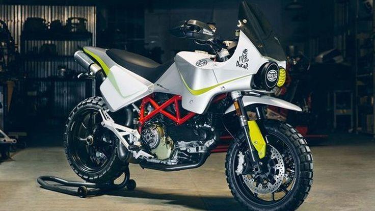 Walt Siegl จับ Ducati Hypermotard แปลงเป็นตัวแข่ง Dakar Rally