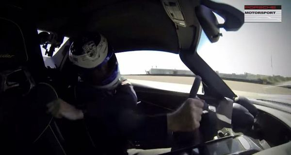 ระดับโปรยังพลาดได้ Walter Rohrl ควบ Porsche 918 Spyder เสยกำแพง