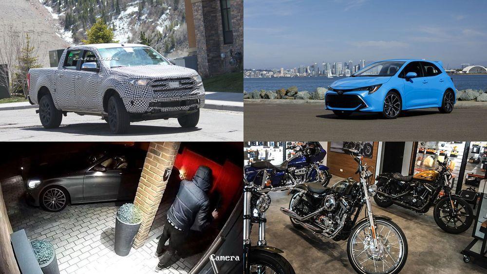 Week in Focus ยลโฉม Ford Ranger 2019 ก่อนเปิดตัวปีหน้า / 2019 Toyota Corolla Hatchback ราคาไม่ถึง 7 แสนบาท / หัวขโมยตัวแสบขโมยรถ Benz ผ่านระบบสัญญาณกุญแจรถ / HARLEY-DAVIDSON เปิดสาขาใหม่อุบลฯ รองรับการผลิตโรงงานระยองป้อนตลาดในประเทศ