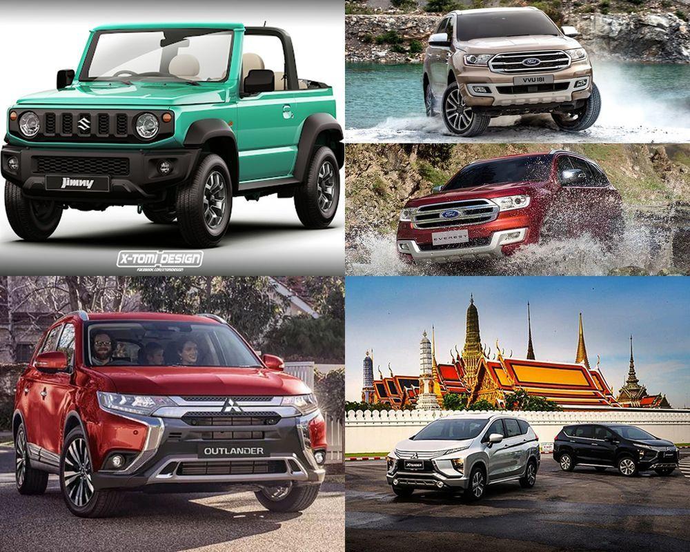 Week in Focus : Suzuki Jimny แบบเปิดประทุน / เจาะข้อมูล Ford Everest 2018 / Mitsubishi Outlander เปิดตัวแล้วที่ออสเตรเลีย / Mitsubishi Xpander เวอร์ชั่นไทย ก่อนขายจริง