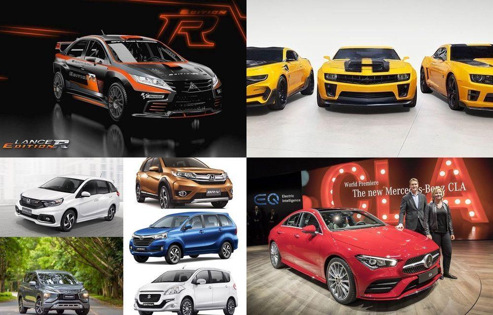 Week in Focus: Mitsubishi Lancer Edition R / GM เปิดประมูล Chevrolet Camaro ทั้ง 4 คัน จากแฟรนไชส์ Transformers / รวมรถยนต์ 7 ที่นั่ง ราคาไม่เกิน 1 ล้าน / เปิดตัว Mercedes CLA Coupe ใหม่