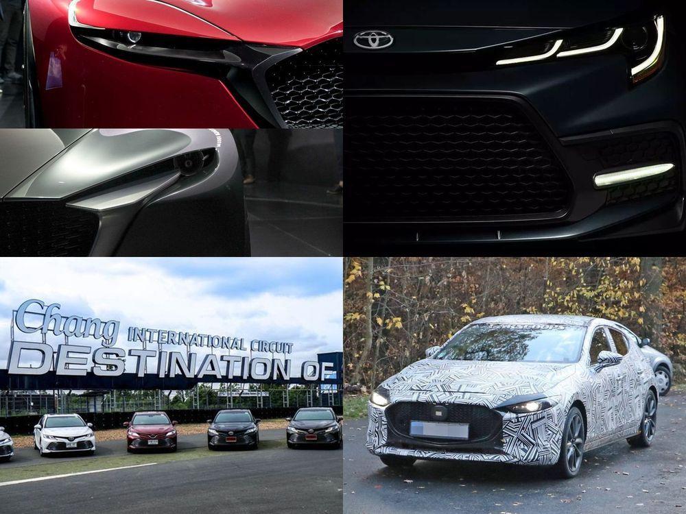 Week in Focus : Mazda อวดโฉมรถต้นแบบโคโดะดีไซน์รุ่นใหม่ / เผยโฉม Toyota Corolla Gen 12 / [Test Drive] all-new Toyota Camry ปรับใหม่หมด / [สปายช็อต]  All-New 2019 Mazda3 พร้อมเครื่องยนต์ SkyActiv-X