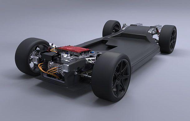 Williams เปิดตัวแพลทฟอร์มต้นแบบสำหรับรถพลังงานไฟฟ้า