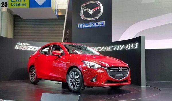 [TIME2014] ครั้งแรกในโลก! Mazda 2 ซีดาน เครื่องยนต์ Skyactiv D ดีเซล