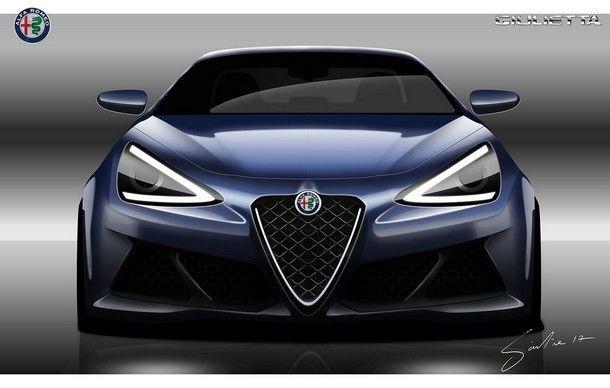 หรือนี่อาจจะเป็นดีไซน์ของ Alfa Romeo Giulietta รุ่นใหม่ในอนาคต ?