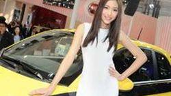 จัดต่อ! ชุดภาพสาวๆพริตตี้มอเตอร์โชว์ 35 ภาพแจ่มๆที่งาน Shanghai Auto Show