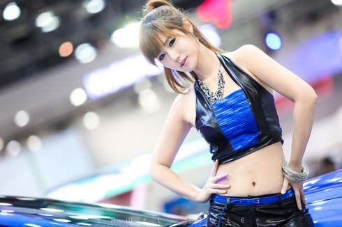 สวยสดใส! รวมภาพพริตตี้มอเตอร์โชว์เกาหลี ชุด 1 ที่งาน 2011 Seoul Motor Show