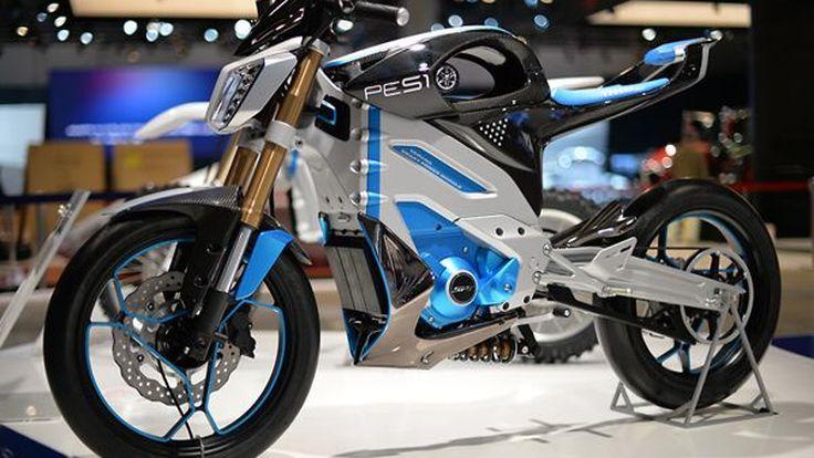 Yamaha PES1 และ PED1 มอเตอร์ไซค์พลังไฟฟ้า เตรียมผลิตขายจริง