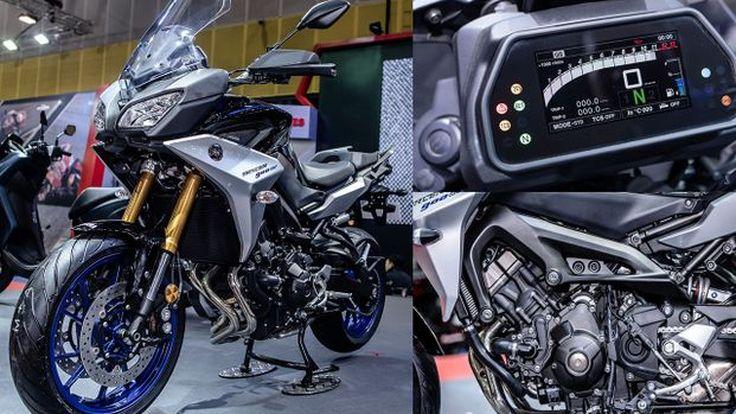 [BIG 2018] Yamaha เปิดตัว Tracer 900 GT มาพร้อมจอสี TFT, ควิกชิพเตอร์, ครูสคอนโทรล ราคาเริ่มเพียง...