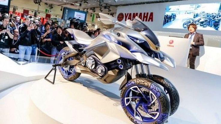 Intermot2014: Yamaha เผยโฉม 01GEN Concept 3 ล้อแบบ Crossover