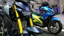 TIME2017: Yamaha AREOX155 และ M-Slaz สีสันใหม่พร้อมตัวแต่งออพชั่นเด็ด