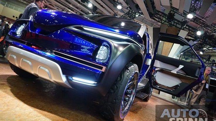 เผยโฉมรถกระบะ Yamaha  Cross Hub กระบะออฟโร้ดล้ำสมัยดีไซน์ล้ำอนาคต