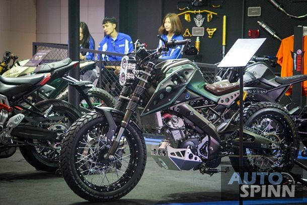 Yamaha ยกทัพ M-Slaz ตัวแต่งสุดเจ็บลุย Bangkok Auto Salon 2016