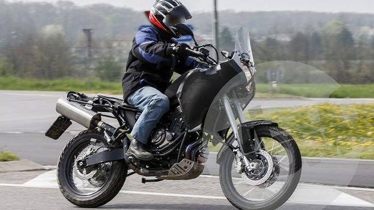 แอดเวนเจอร์มิดไซด์ Yamaha MT-07 Tenere โดนดักถ่ายขณะทดสอบในอิตาลี